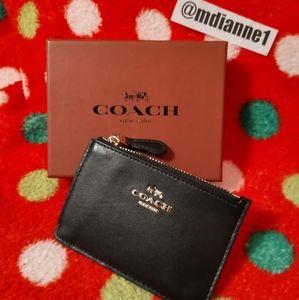 🆕 Coach Smooth Mini Skinny Case
